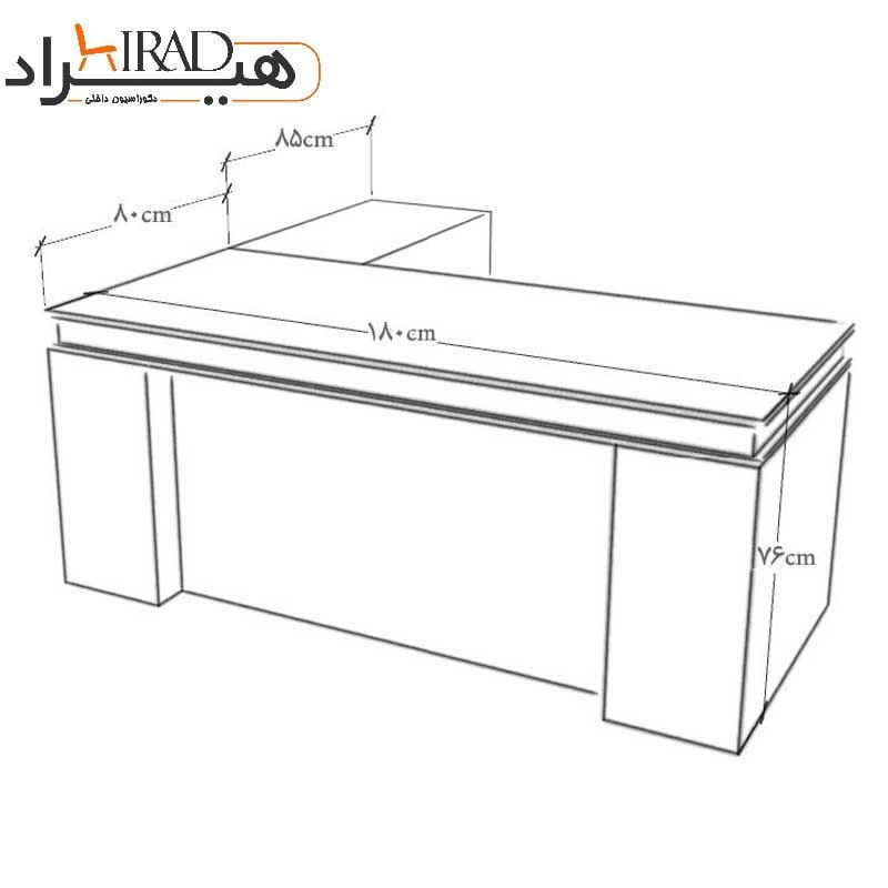 میز مدیریت هیراد مدل M906