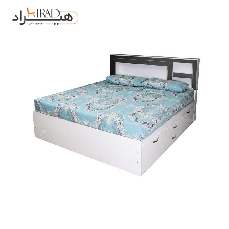 تخت خواب دو نفره هیراد مدل MD006